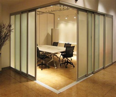 the sliding door company office partitions the sliding door company