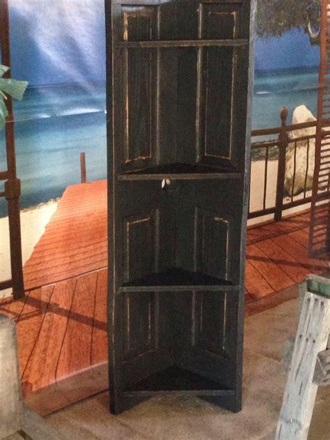 wooden door corner shelf furniture pinterest