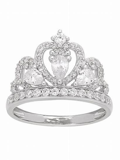 Jewelry Brilliance Fine Silver Ring Walmart Sterling