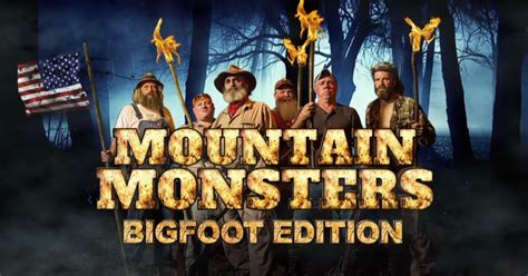 bigfoot evidence mountain monsters team figure