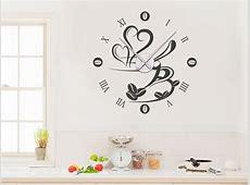 Wandtattoo für die Küche Ideen für kreative Küchen
