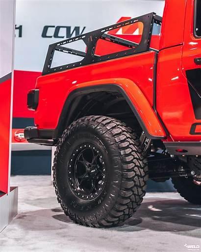 Jeep Gladiator Wheels Beadlock Weld Tire Road