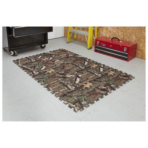 realtree 6 pc foam floor tile set 616557 garage tool