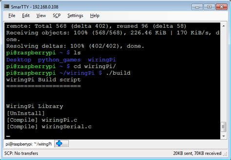Using Wiringpi Library With Raspberry Cross Compiler