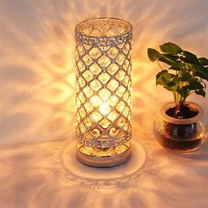 Table, Lamp, Crystal, Table, Lamps, Decorative, Bedside