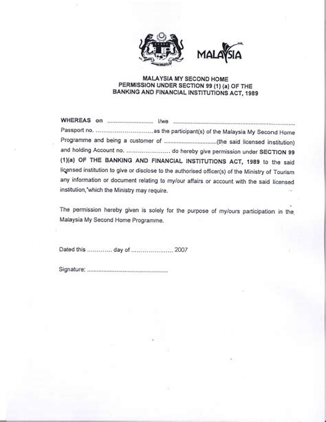 malaysia visa application letter writing   papervisa