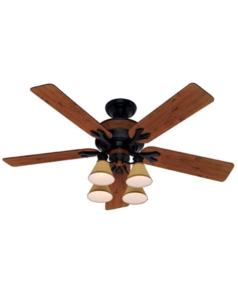 hunter fan 25658 lancaster 54 inch ceiling fan with light