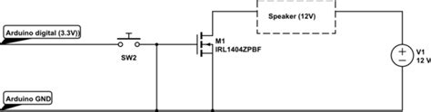 Arduino Stm Mosfet Switch With Digital Pin
