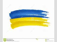 Disegno Ucraino Della Bandiera Immagine Stock Immagine