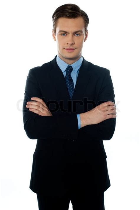 14893 professional business photography portrait of a professional business executive stock