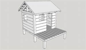 Plan De Cabane En Bois : plan cabane d 39 enfant par ninjarouge sur l 39 air du bois ~ Melissatoandfro.com Idées de Décoration