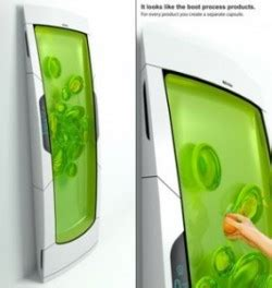 cuisine concept 2000 bio fridge concept stores your food in green goo