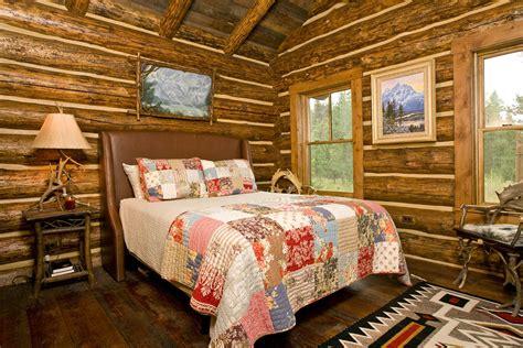 Log Cabin Interior Design In Jackson Hole  Teton Heritage