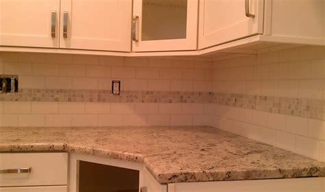 Kitchen-backsplash-white X Subway Tile & White