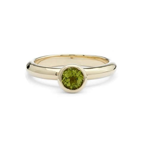 Solid Gold August Birthstone Peridot Ring By Alison Moore. Alexis Bellino Rings. Jewel Wedding Rings. Engangement Engagement Rings. Gold Alloy Rings. $1200 Engagement Rings. 5 Carat Engagement Rings. Two Tone Rings. Light Blue Rings
