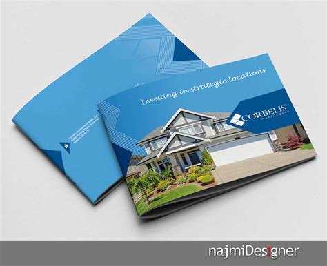 residential home designers professional serious residential brochure design for a