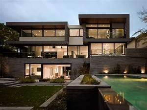 Chalet Bois Toit Plat : vous tes int ress s par une maison toit plat 84 exemples pour votre inspiration ~ Melissatoandfro.com Idées de Décoration