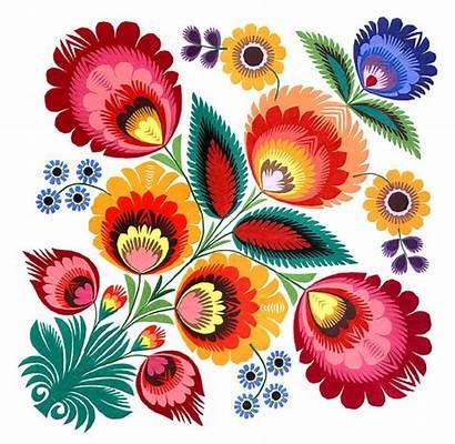 Polish Folk Wycinanki Flowers Flower Cutouts Patterns
