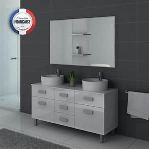Meuble De Salle De Bain Double Vasque : meuble double vasque sur pieds dis911b meuble de salle de ~ Melissatoandfro.com Idées de Décoration