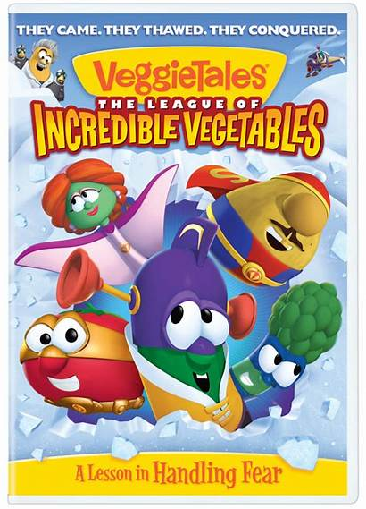 League Veggietales Vegetables Incredible Plane Larryboy Installment