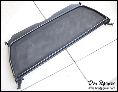 E36 Convertible Windscreen