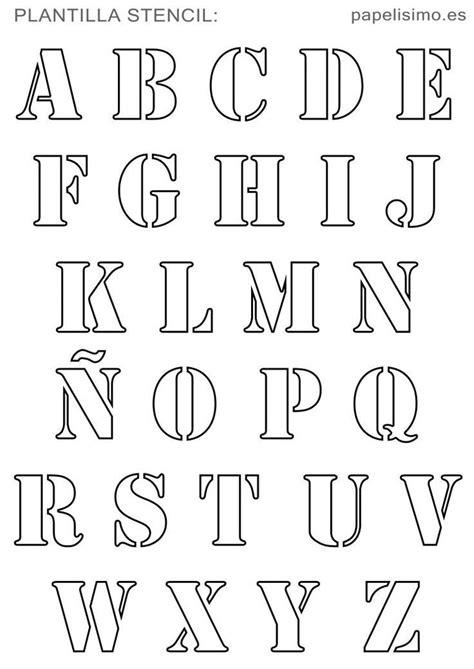 bildergebnis fuer buchstaben schablone drucken alphabet schablonen alphabet schriftarten