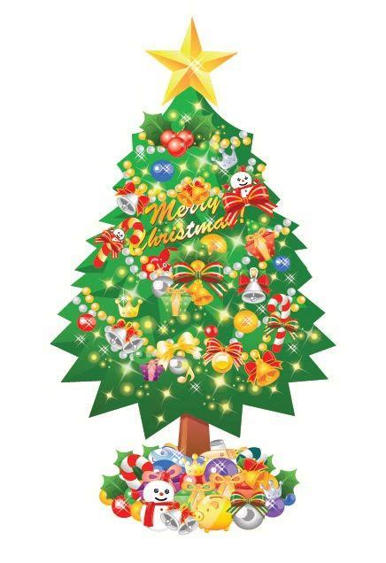 christmas tree vector collection ipietoon cute blog
