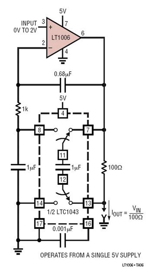 Ltc Voltage Controlled Current Source With