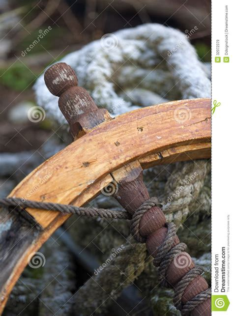Old Boat Equipment by Old Ship S Rudder Royalty Free Stock Images Image 32072379