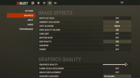 rust fps graphics tab improving improve