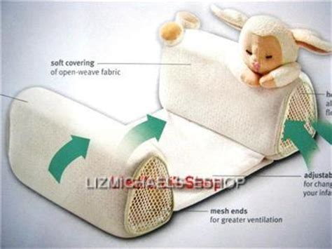 baby anti roll pillow sleep positioner wow baby anti roll pillow sleep positioner ebay
