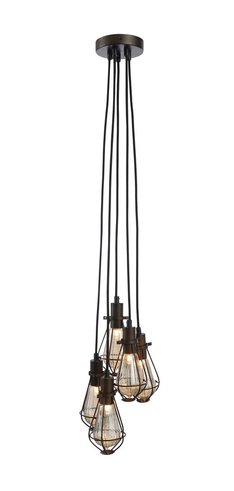 ananes bronze effect 5 l ceiling light departments