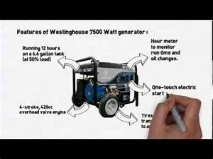 Westinghouse Portable Generator Wh7500e Review