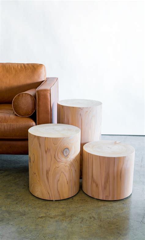 thuja block  cylinder furniture   furniture