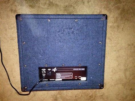 kmd sg 1260 staxx powered kmd staxx sg 1260 powered 1x12 speaker cabinet