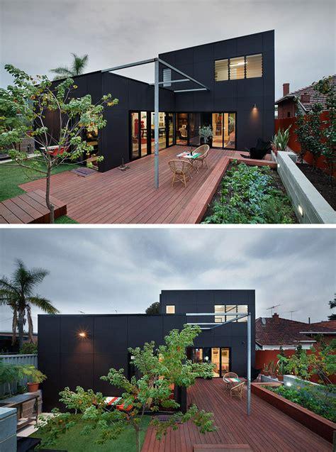 14 ejemplos de casas modernas con exteriores negros