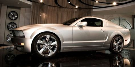 iacocca  anniversary mustang fetches