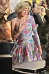 Emma Corrin One Shoulder Dress as Princess Diana in The ...