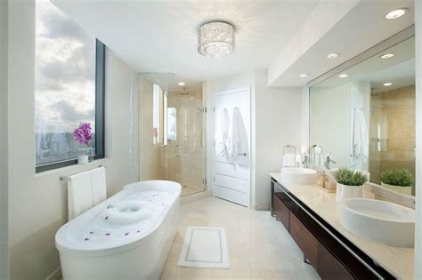 Luxury Spa Bathroom Designs by 40 Luxurious Master Bathrooms Most With Bathtubs