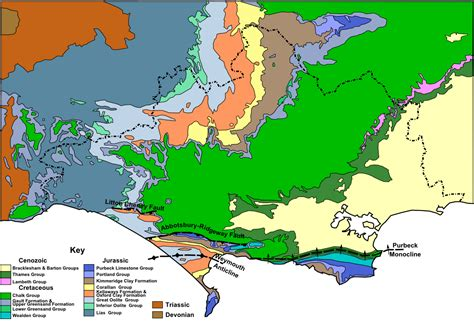 Geology Of Dorset Wikipedia