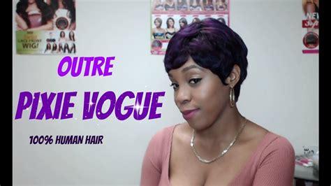 Outre 100% Human Hair Premium Duby Wig