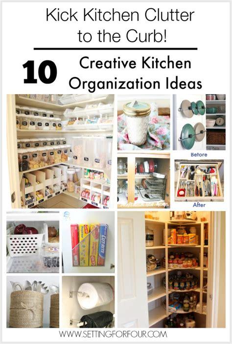 creative kitchen storage ideas 10 budget friendly creative kitchen organization ideas 6298