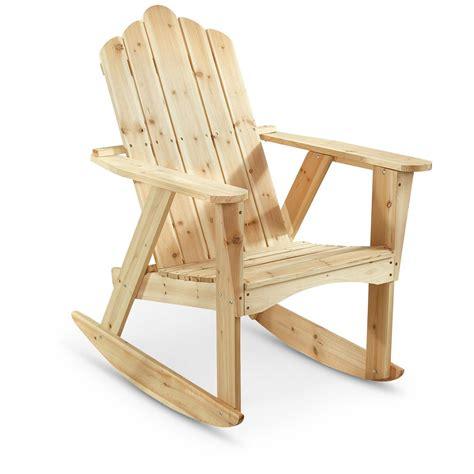 castlecreek adirondack rocking chair 657804 patio