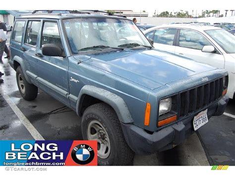 gunmetal blue jeep 1998 gunmetal pearl jeep cherokee classic 4x4 28092444
