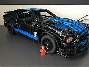 LEGO MOC-1180 Ford Mustang Shelby GT500 RC (Technic 2013) | Rebrickable - Build with LEGO