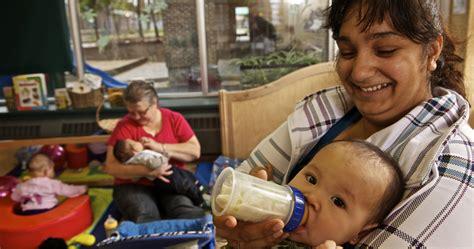 childcare care child feeding infant fs early bottle educator childhood manitoba rocking slider mb gov