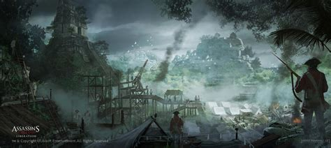 Assassins Creed Iii Liberation Concept Art By Eddie