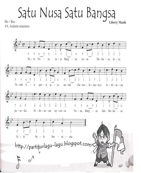 not angka lagu terima kasihku partitur lagu wajib dan nasional november 2012