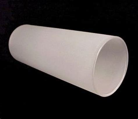 frosted glass white 3 quot x 8 quot cylinder light shade