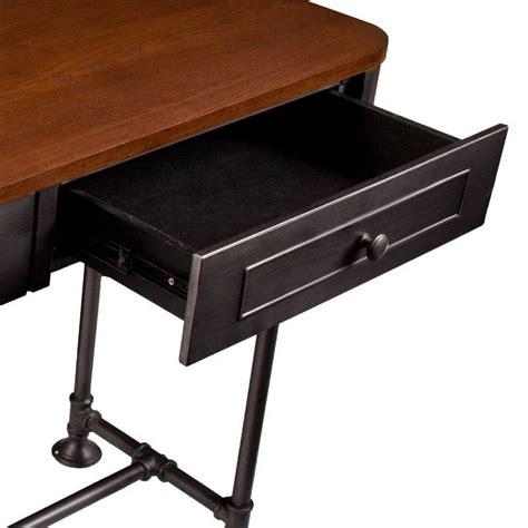 edison table l southern enterprises edison console table in tobacco